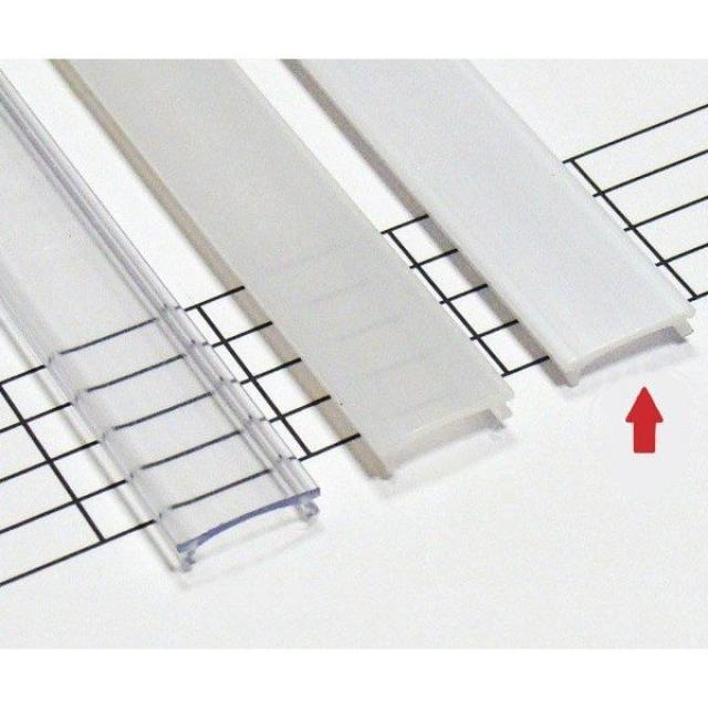 LEDLabs Mléčný difuzor HIGH KLIK pro profily LUMINES A/B/C/D/G/H/Z/Y 3m